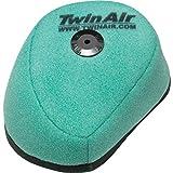 Twin Air 152213X Pre-Oiled Dual Foam Air Filter, Black