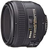 Nikon 50mm F1.4G AF-S Nikkor Lens (Refurbished)