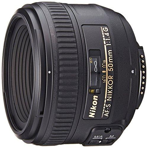 Nikon 50mm F1.4G AF-S Nikkor Lens (Refurbished)