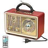 Radio MP3 Portable PRUNUS Bluetooth M-110BT FM/AM(MW) SW/USB/Micro-SD/TF/AUX. avec...