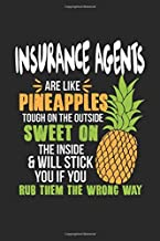 Insurance Agents Are Like Pineapples. Tough On The Outside Sweet On The Inside: Insurance Agent. Ruled Composition Notebook to Take Notes at Work. ... To-Do-List or Journal For Men and Women.