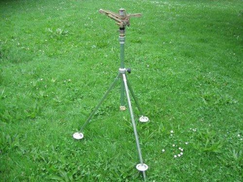 VYRSA VYR 65 KOMPLETT-SET Schwinghebelregner / Rasensprenger + Stativ + Zubehör (Kreisregner)