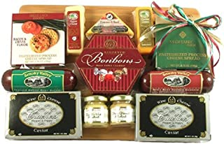 Savory Meat and Cheese Board Christmas Gift Assortment | Size Large