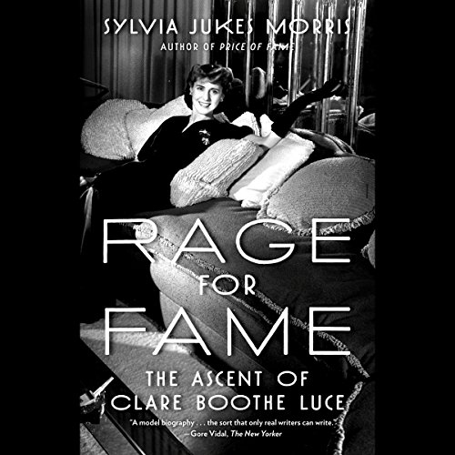 Rage for Fame audiobook cover art