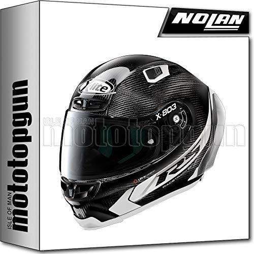 MOTOTOPGUN X-LITE BY NOLAN MOTORRAD INTEGRALHELM X-803 ULTRA CARBON RS HOT LAP 014 SZ. XS