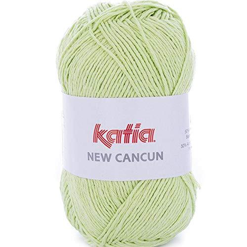 Lanas Katia New Cancun Ovillo de Color Manzana Cod. 82