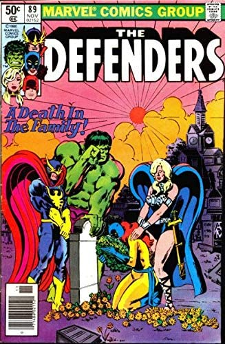 Defenders The 5% Industry No. 1 OFF #89 Newsstand FN Marvel comic ; book