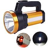 Lanterna da Campeggio LED 6000 lumen, Usb Ricaricabile 6 Modalità Lampade da Campeggio Impermeabile per Emergenza Escursione Pesca Trekking ecc