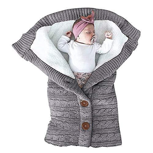 Saco de Dormir Bebe Recien Nacido,Saco de Dormir Unisex para Bebés Recién,Saco de Dormir Cuna Bebe,Manta de Invierno Bebe,Manta de Cochecito de Bebé,Bebé Dormir Cálido de Invierno.