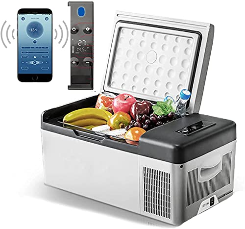 BIIII Mini refrigerador portátil, Nevera de 15 litros de 15 litros, Campervan...