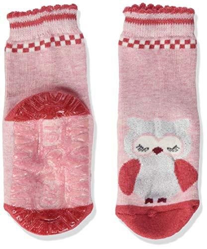 Sterntaler FLI Air Eule calcetines, Mel Rosa, 22 para Bebés