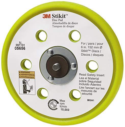"Price comparison product image 3M 05656 Stikit 6"" Low Profile Dust-Free Disc Pad"