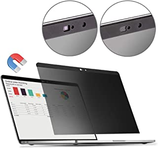 MacBook Pro 13.3 Privacy Screen Protector Filter【Magnetic Installation】【Webcam Cover】【 Anti-Glare Screen Protector 】【TPU Keyboard Cover】 for New 2018 MacBook Air 13 (A1932), MacBook Pro 13 (A1706/08)