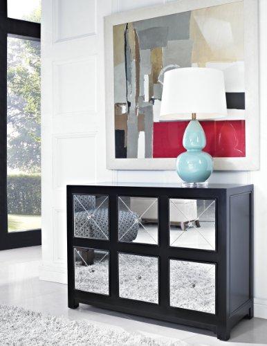 FurnitureMaxx Hallway Mirror Console Table