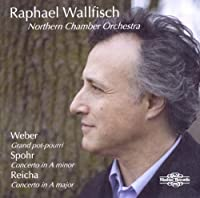 Spohr Violin Concerto No.8 in A minor Op.47 arranged for cello by Friedrich Grutzmacher, Danzi Variations on La ci darem la mano from Don Giovanni, Reicha Cello Concerto in A major Op.4 No.1, Weber Concerto Grand pot-pourri Op.20 by Raphael Wallfisch (cello) (2011-03-08)