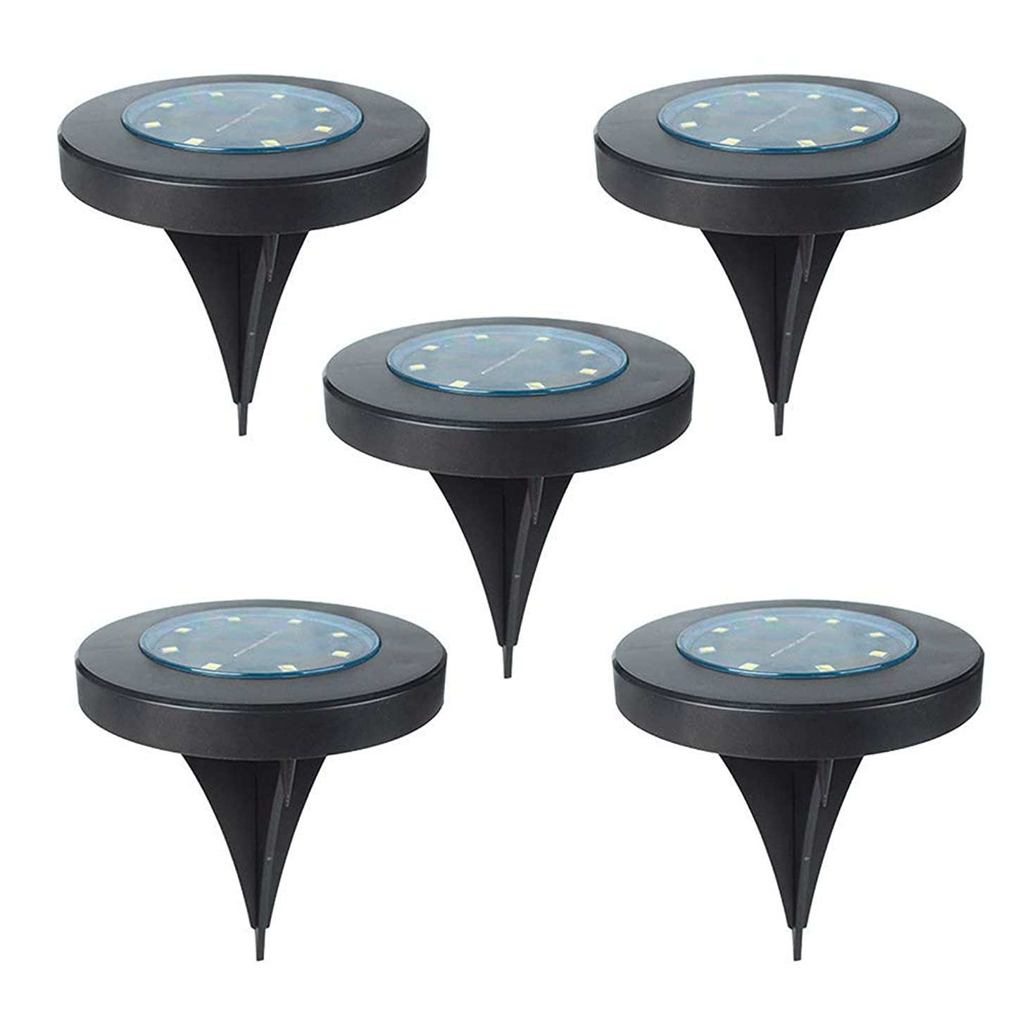 5 STICKERS Bled Solar Powered Floor Lights Durable Waterproof Lamps for Patio Lighting Ceiling Fans (Color : -, Size : -)