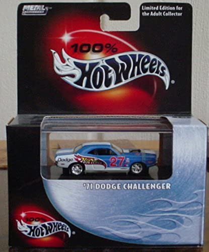 Hot Wheels 100% '71 Dodge Challenger  24 2003 1 64 Scale Collectible Die Cast Car by Hot Wheels