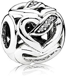 Pandora Women's Silver Charm Pendant - 792046CZ