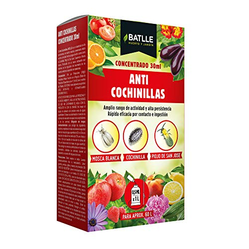 Fitosanitarios - Anti Cochinillas Caja concentrada plus 30 ml. - Batlle