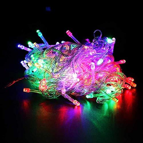 GFSDDS kerstverlichting, vakantie, krans, lichtketting, voor feest, slaapkamer, Kerstmis, bruiloft, sprookjes, mini-lampjes, veranderbaar, 110 V