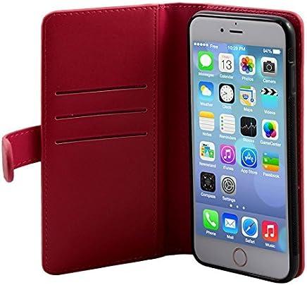 DealMux Faux celular Couro Telefone com zíper carteira Bolsa de Dinheiro caso capa magnética para iphone