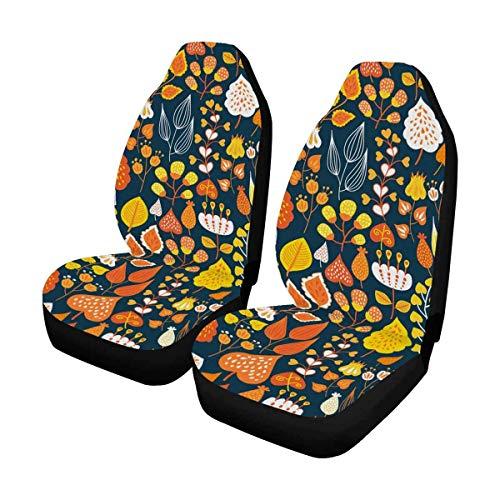 Auto Seat Covers 2 Stk, Bucket Seat Protector Autositzkissen für PKW, SUV, LKW oder Van