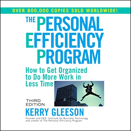 The Personal Efficiency Program  audiobook cover art