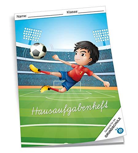 Trötsch Verlag 201635 – huistaken A4 voor de basisschool, voetbal, 96 pagina's, met extra sterke transparante envelop