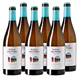 Chardonnay Viñas del Vero - Vino blanco de 75 cl - D.O. Somontano - Bodegas Gonzalez Byass (Pack de 6 botellas)
