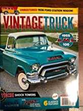 VINTAGE TRUCK MAGAZINE August 2019 ( ++ FREE VEHICLE MAGAZINE ) TECH SHOCK TOWERS