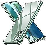 ivoler Funda para Samsung Galaxy Note 20 / Note 20 5G, Carcasa Protectora Antigolpes Transparente con Cojín Esquina Parachoques, Flexible Suave TPU Silicona Caso Delgada Anti-Choques Case Cover