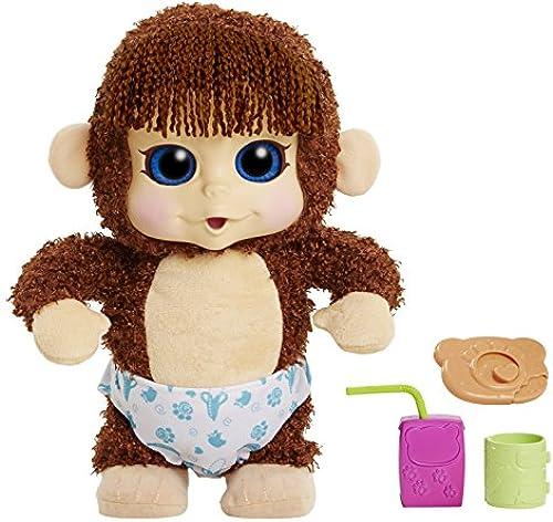 Animal Babies Feature Jumping Lil Monkeys Boy Plush