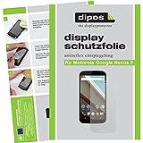 dipos I 6X Schutzfolie matt kompatibel mit Motorola Google Nexus 6 Folie Bildschirmschutzfolie