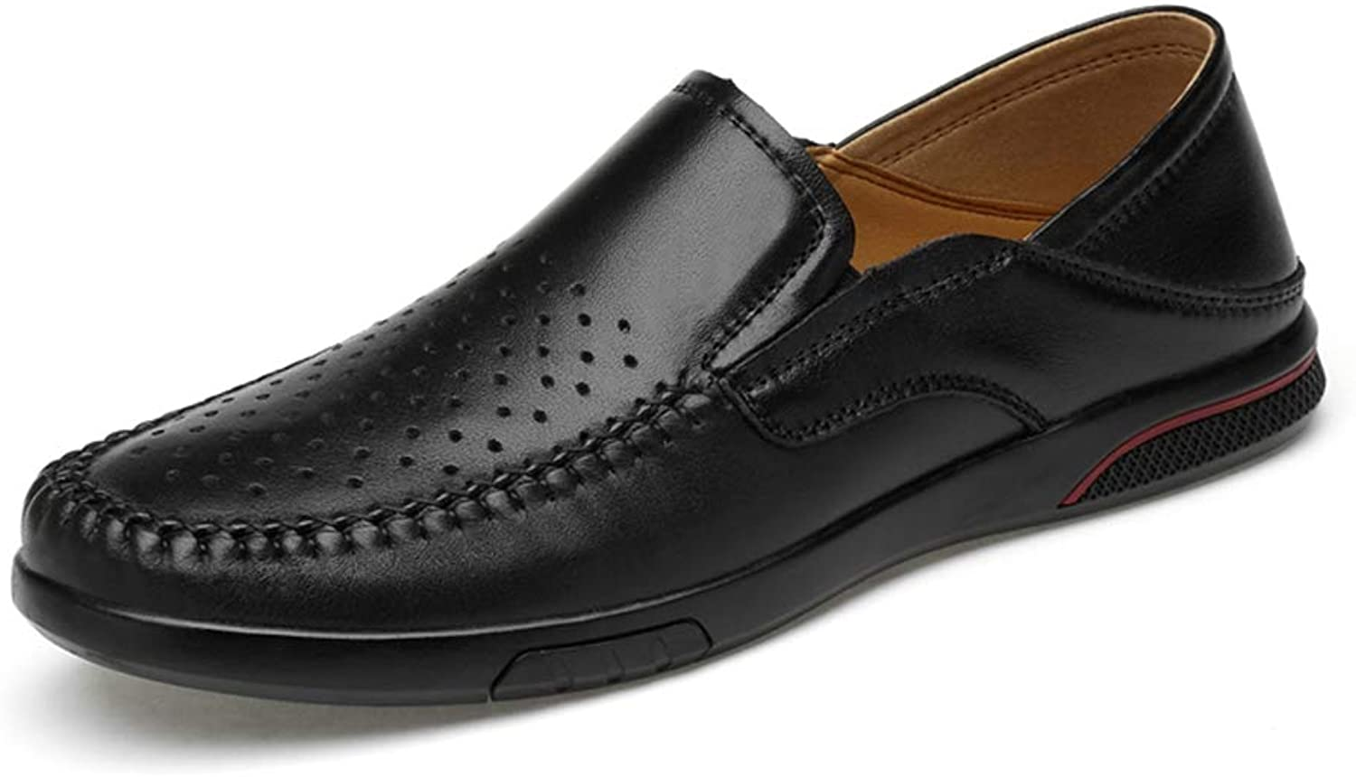 Men's shoes Casual Comfort Hole Lazy shoes Flat Loafers Loafers & Slip-Ons for Work, Leisure,Going Out, Gatherings