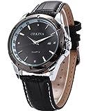 ORKINA Elegant Armbanduhr Herrenuhr Quarzuhr Uhr ORK081