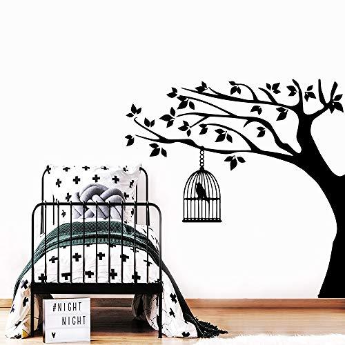 Tianpengyuanshuai Cartoon Vogel Vinyl Wandaufkleber Kinderzimmer Dekoration Babyzimmer Kindergarten Dekoration Aufkleber 28X28cm