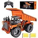 Bezgar Remote Control Construction Dump Truck Toy