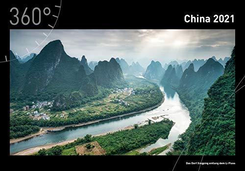 360° China Premiumkalender 2021 (360° Premiumkalender 2021)