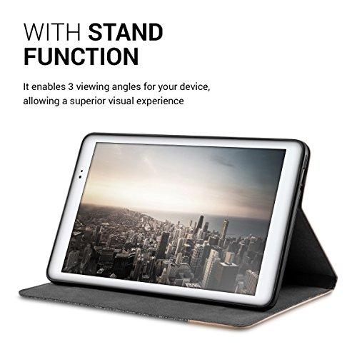 kwmobile Huawei MediaPad T1 10 Hülle - Tablet Cover Case Schutzhülle für Huawei MediaPad T1 10 mit Ständer - 5