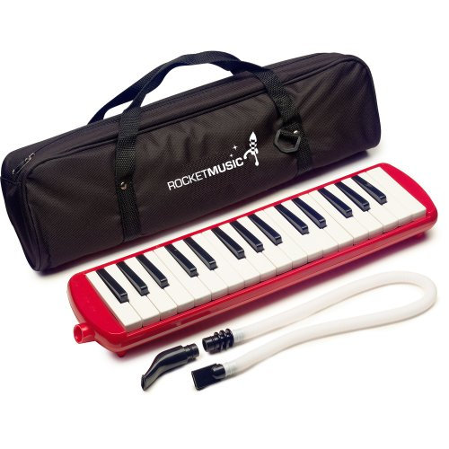 Rocket Music MEL01RD Melodica rot