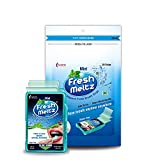 FRESH MELTZ Oral Hygiene Mouth Freshener Sugar Free Mint Flavoured Breath Strips (20 Strips) - Pack...