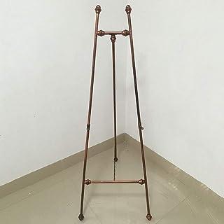 HDGZ Easels European Iron Art Oil Painting Easel, Floor-Standing Photo Frame Bracket, Bracket Type Display Stand Wedding E...
