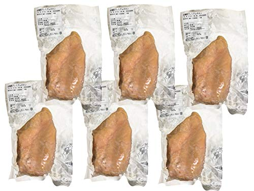 至高の鶏 270g 6袋 (北海道産プレミアムチキン)チキンコンフィ 無添加・低カロリー(上質な若鶏の胸肉)極上の塩のみ使用 和・洋・中に最適なとり肉(サラダ・カレー・フライドチキン・サンドウィッチ・汁物にも合う鳥肉)