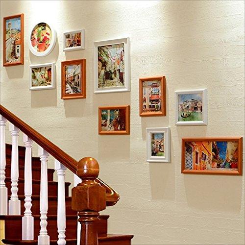 Cadre Ensemble de cadre multi-images, Ensemble mural grand cadre photo, Meilleures décorations murales Décoration d'intérieur