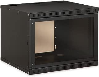 "Kendall Howard 8U Security Wall Rack Enclosure - Wall mount cabinet - 8U - 19"""