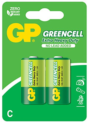 GP Greencell C Baby Batterie (2-er Pack)