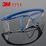 Sooiy 3M Gafas de Seguridad Gafas de Arena contra el Viento Polvo Golpes médico...