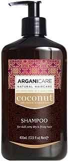 ARGANICARE Champú Coconut For Dull Very Dry & Frizzy Hair 400 ml