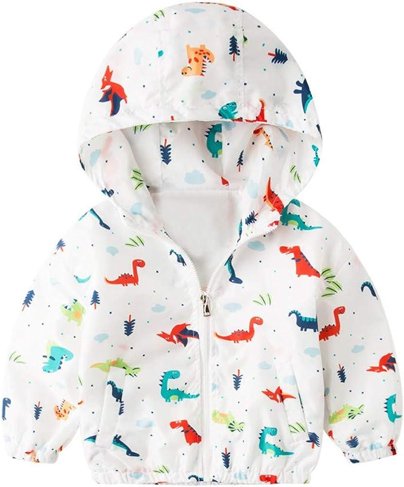 Fall Unisex Baby Jacket Jacketdinosaur Bargain Outerwear favorite Boys Girls Coat