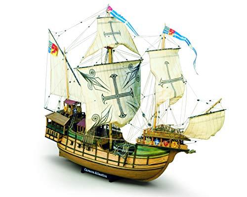Unbekannt Kit Barca Mamoli SAO Miguel Wooden Ship Scala 1:54 L:843mm H:630mm
